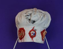 Picture of Cooks Hat with Bloody Body Parts