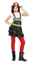 Picture of Fire Chief Cutie Girl Child Costume