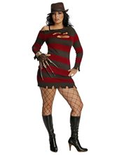 Picture of Miss Krueger Adult Womens Plus Size Costume