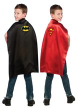 Picture of Batman & Superman Reversible Child Cape