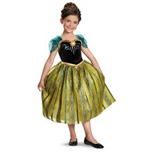 Picture of Anna Coronation Gown Deluxe Child Costume