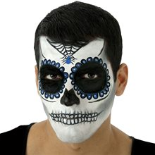 Picture of Day of the Dead Male Makeup Kit