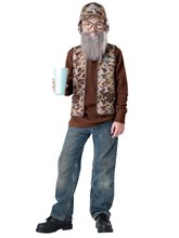 Picture of Duck Dynasty Uncle Si Child Costume
