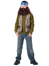 Picture of Duck Dynasty Willie Child Costume
