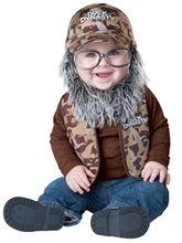Picture of Duck Dynasty Lil' Uncle Si Infant & Toddler Costume