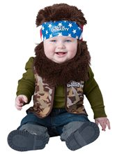 Picture of Duck Dynasty Lil' Willie Infant & Toddler Costume