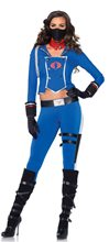 Picture of G.I. Joe Cobra Girl Adult Womens Costume