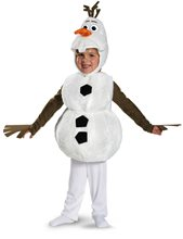 Picture of Frozen Olaf Deluxe Toddler & Child Costume
