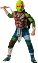 Picture of Ninja Turtles Movie Deluxe Muscle Michelangelo Child Costume