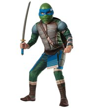 Picture of Ninja Turtles Movie Deluxe Muscle Leonardo Child Costume