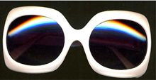 Picture of Jackie O Style Squared Sunglasses