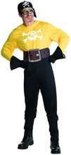 Picture of Minion Pirate Adult Mens Costume