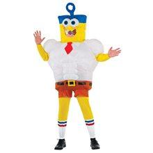 Picture of Spongebob Movie Inflatable Spongebob Adult Mens Costume