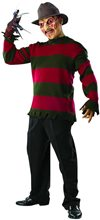 Picture of Freddy Krueger Deluxe Adult Sweater & Mask Set