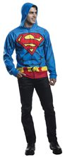 Picture of Superman Adult Mens Hoodie