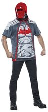 Picture of Red Hood Adult Mens Hoodie with Mask