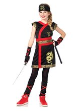 Picture of Ninja Warrior Princess Child Costume