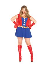 Picture of Comic Book Girl Adult Womens Plus Size Costume