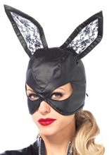 Picture of Faux Leather Bunny Mask