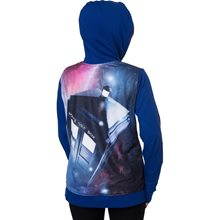 Picture of Doctor Who Tardis Adult Womens Hoodie