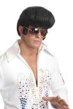 Picture of Rockstar Pompadour Black Wig