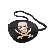 Picture of Pirate Eyepatch with Skull & Crossbones