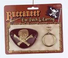 Picture of Buccaneer Eyepatch & Earring Set