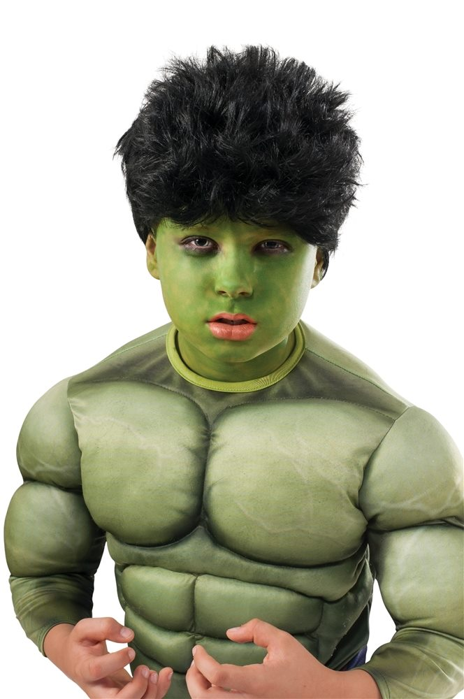 Picture of Avengers 2 Age of Ultron Hulk Wig & Makeup Kit