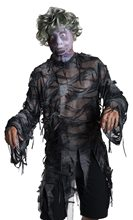 Picture of Male Zombie Mask with Wig