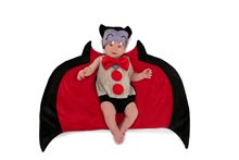 Picture of Drooly Dracula Newborn Costume with Swaddle Wings