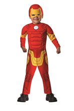 Picture of Avengers Assemble Iron Man Deluxe Toddler Costume