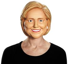 Picture of Hillary Clinton Adult Half Mask