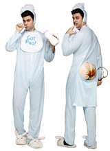 Picture of Poopie Jammies Adult Mens Costume