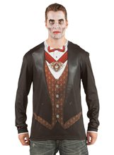Picture of Classic Vampire Adult Mens Shirt