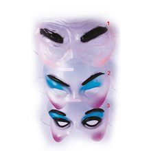 Picture of Transparent Face Half Mask (More Styles)