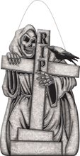 Picture of Cemetery Reaper RIP Sign