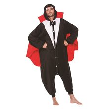 Picture of Vampire Plush Adult Unisex Onesie