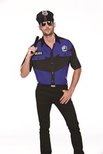 Picture of Classic Policeman Adult Mens Shirt
