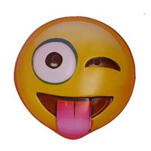 Picture of Winking Tongue Out Emoji Mask