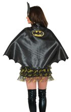 Picture of Batgirl Cape with Glitter Logo