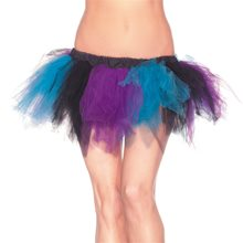 Picture of Turquoise & Purple Adult Womens Petticoat