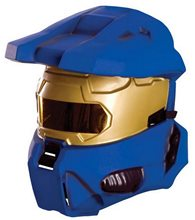 Picture of Halo Blue Spartan Adult Half Mask
