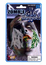 Picture of Glow in the Dark Zombie Maggots 18ct