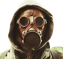 Picture of Wasteland Gas Mask with Hood
