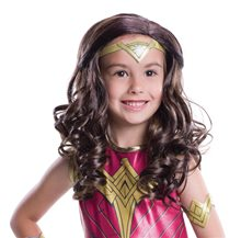 Picture of Batman v Superman Wonder Woman Child Wig