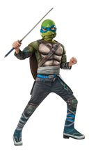 Picture of Ninja Turtles Movie 2 Deluxe Leonardo Child Costume