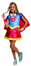 Picture of DC Super Heroes Deluxe Supergirl Child Costume