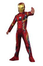 Picture of Captain America: Civil War Iron Man Child Costume