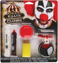 Picture of Killer Clown Makeup Kit
