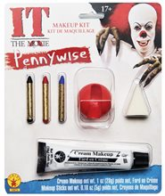 Picture of Pennywise the Clown Makeup Kit